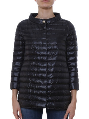Herno: padded coats online - Quilted down coat