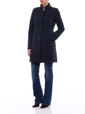 Herno: padded coats online - Quilted padded coat