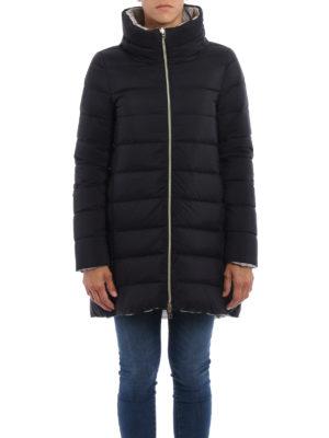 Herno: padded coats online - Reversible padded short coat