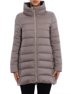 Herno: padded coats online - Reversible short padded coat