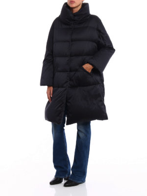 Herno: padded coats online - Silky technical over padded coat