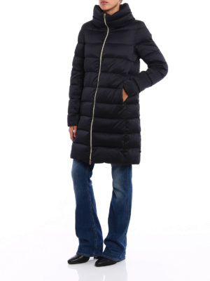 Herno: padded coats online - Silky technical padded coat