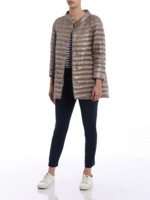 Herno: padded coats online - Ultralight nylon padded coat
