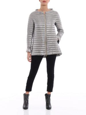 Herno: padded coats online - Ultralight nylon padded short coat