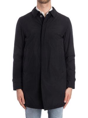 Herno: padded coats online - Ultralight padded black coat
