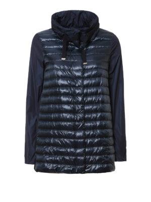Herno: padded coats - Padded front coat