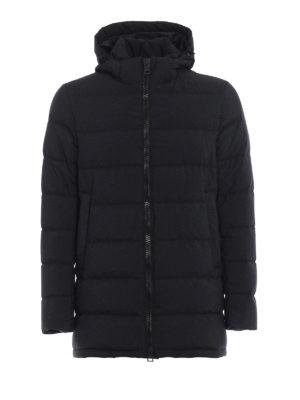 HERNO: cappotti imbottiti - Piumino Polar Tech effetto lana