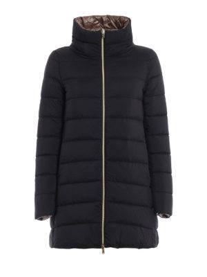 Herno: padded coats - Reversible padded short coat