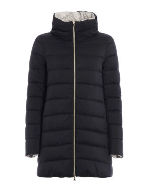 Herno: padded coats - Reversible padded short coat