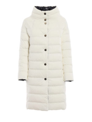 HERNO: cappotti imbottiti - Piumino reversibile bianco e nero
