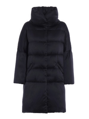 Herno: padded coats - Silky technical over padded coat