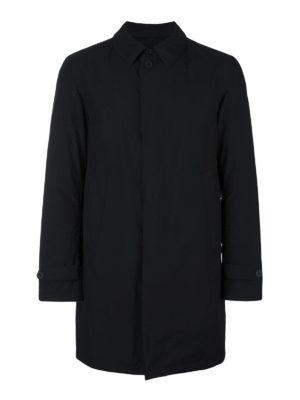 Herno: padded coats - Ultralight padded black coat