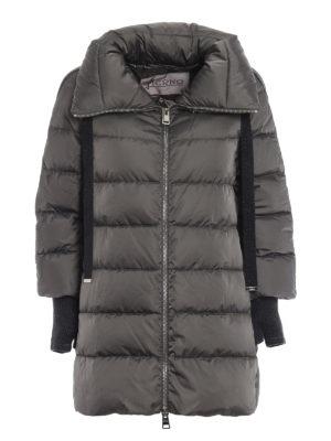 HERNO: cappotti imbottiti - Piumino di raso tecnico resistente all'acqua