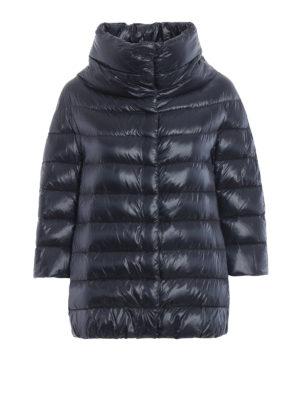HERNO: giacche imbottite - Piumino Aminta in nylon blu
