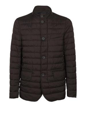 HERNO: giacche imbottite - Giacca leggera imbottita marrone