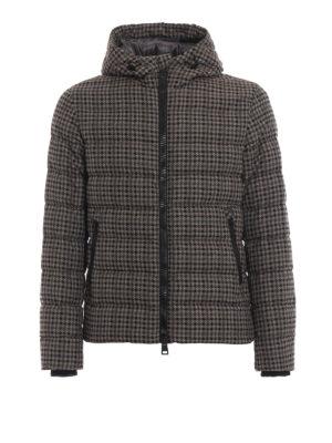 HERNO: giacche imbottite - Piumino stampa check