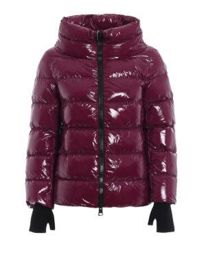 HERNO: giacche imbottite - Piumino tessuto spalmato effetto vinile