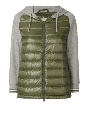 HERNO: giacche imbottite - Piumino con maniche in cotone