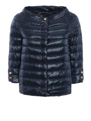 Herno: padded jackets - Crop padded jacket