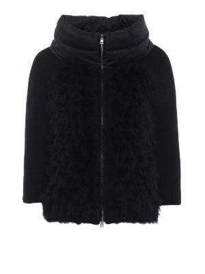 HERNO: giacche imbottite - Piumino con piume e maniche di lana