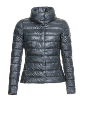 Herno: padded jackets - Funnel neck quilted padded jacket