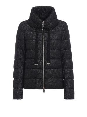 HERNO: giacche imbottite - Piumino Glow in jersey di misto lana