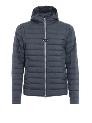 Herno: padded jackets - Jacket with removable sleeves