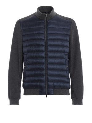 HERNO: giacche imbottite - Piumino con maniche in jersey