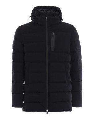 HERNO: giacche imbottite - Piumino Laminar in Gore®Windstopper® nero