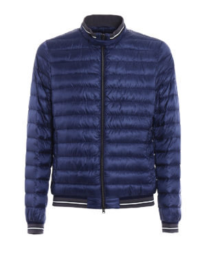 Herno: padded jackets - Lightweight padded bomber jacket