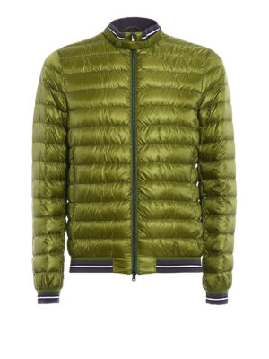 Herno: padded jackets - Lightweight puffer bomber jacket