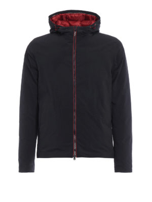 Herno: padded jackets - Magma padded hooded jacket