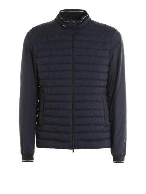 Herno: padded jackets - Matte nylon bomber jacket