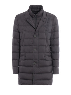 Herno: padded jackets - Matte nylon short padded coat
