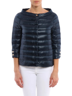 Herno: padded jackets online - Crop padded jacket