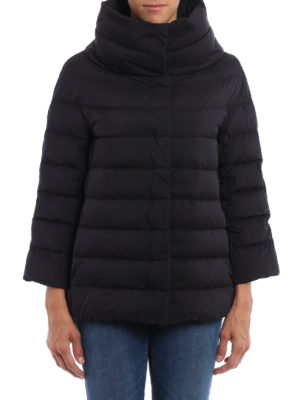 Herno: padded jackets online - Funnel neck padded jacket