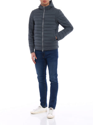 Herno: padded jackets online - Jacket with removable sleeves