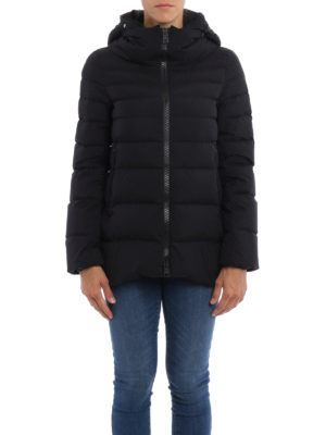 Herno: padded jackets online - Laminar long A-line jacket