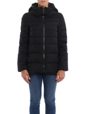 Herno: padded jackets online - Laminar long A-line jacket