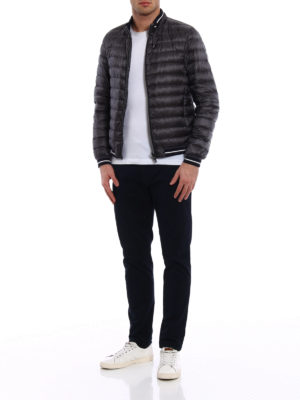 Herno: padded jackets online - Lightweight down bomber jacket