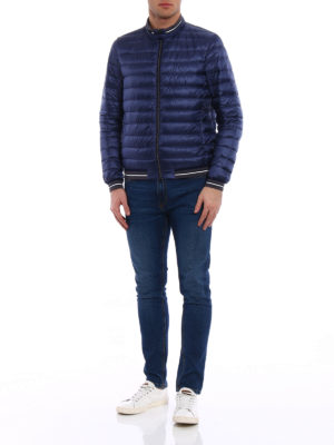 Herno: padded jackets online - Lightweight padded bomber jacket