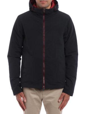 Herno: padded jackets online - Magma padded hooded jacket