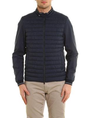 Herno: padded jackets online - Matte nylon bomber jacket