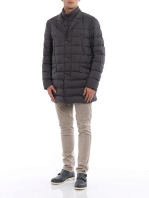 Herno: padded jackets online - Matte nylon short padded coat