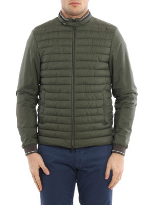 Herno: padded jackets online - Padded matte nylon casual jacket