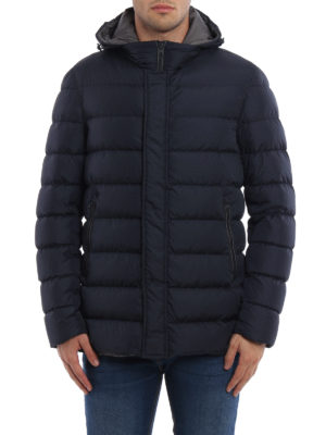 Herno: padded jackets online - Quilted and padded hooded jacket