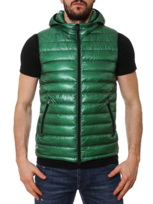 Herno: padded jackets online - Quilted and padded hooded vest