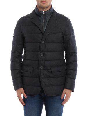 Herno: padded jackets online - Quilted and padded jacket