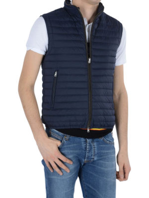 Herno: padded jackets online - Quilted padded Gilet