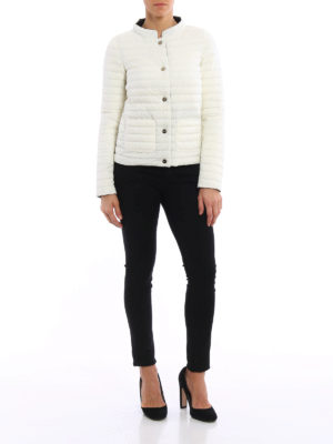 Herno: padded jackets online - Reversible two-tone padded jacket